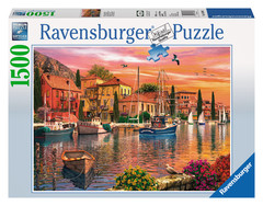 Mediterranean Flair 1500pc Puzzle: 16280