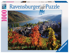On the River Rhine 1000pc Puzzle: 19236