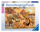 African Wildlife 1000pc Puzzle: 19422