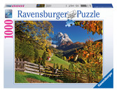 Mountains in Autumn 1000pc Puzzle: 19423