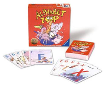 Alphabet Zoop Card Game