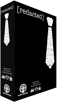 Redacted Board Game - USED - By Seller No: 7425 Eric Bettinger