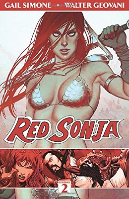 Red Sonja: Volume 2: The Art of Blood and Fire TP