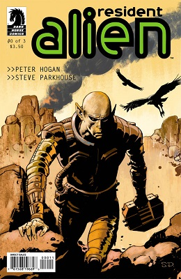 Resident Alien Complete Bundle (4 Issues) - Used