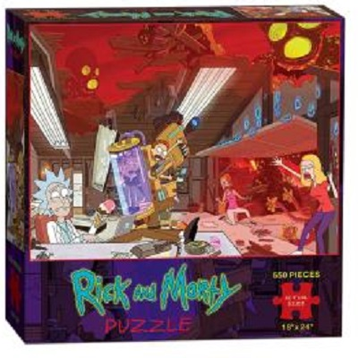 Puzzle: Rick and Morty