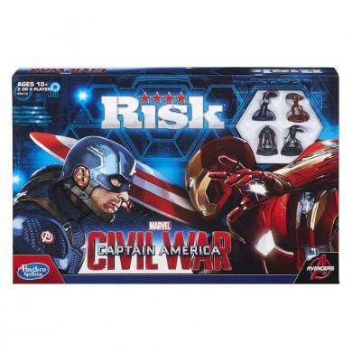 Risk: Marvel: Civil War Board Game - USED - By Seller No: 9411 David Palomares Jr