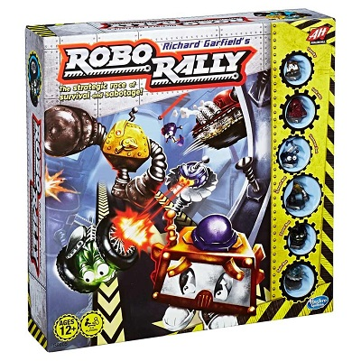 Robo Rally Board Game (3rd Edition) - USED - By Seller No: 14567 Fr. Terry Donahue