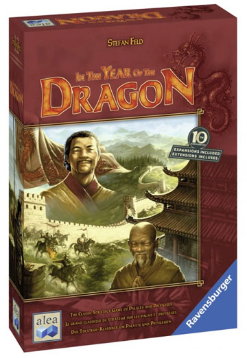 In the Year of the Dragon Board Game (2nd edition)