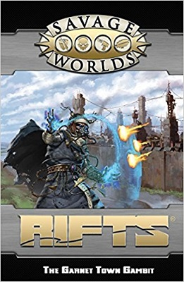 Savage Worlds: Rifts: GM Screen and Garnet Town - Used
