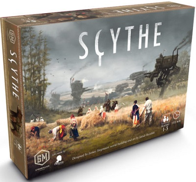 Scythe Board Game - USED - By Seller No: 17895 William T. Ross