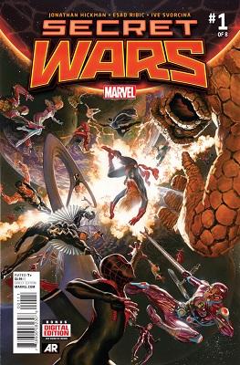 Secret Wars (2015) Complete Bundle  - Used