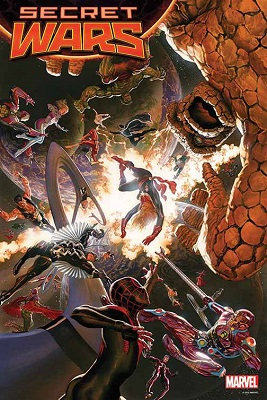 Secret Wars no. 1 by Ross Poster Boarded