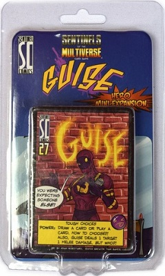 Sentinels of the Multiverse Card Game: Guise Hero Mini-Expansion