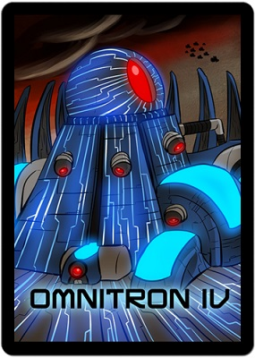 Sentinels of the Multiverse Card Game: Omnitron IV Environment