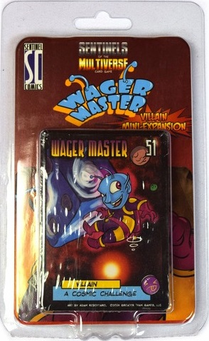 Sentinels of the Multiverse Card Game: Wager Master Villain Mini-Expansion