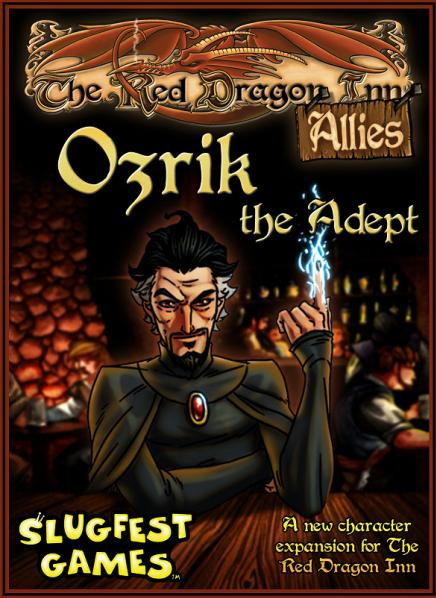 Red Dragon Inn: Allies Ozrik the Adept Expansion