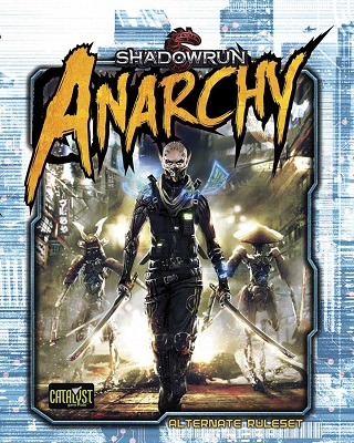 Shadowrun 5th ed: Anarchy Hardcover - Used