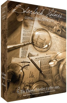 Sherlock Holmes: Consulting Detective: The Thames Murders Board Game