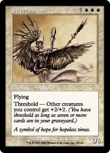 Silver Seraph - FOIL