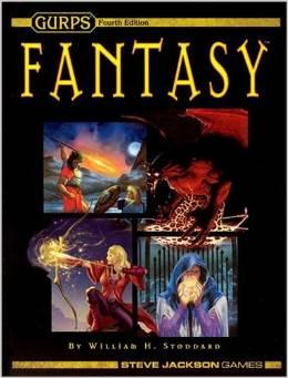 Gurps 4th Ed: Fantasy HC - Used
