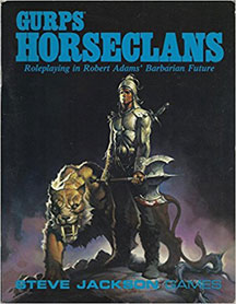 Gurps Horseclans - USED