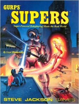 Gurps 1st Ed: Supers - Used