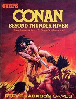Gurps: Conan: Beyond Thunder River - Used