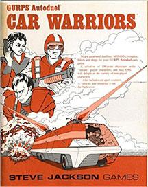 Gurps Autoduel: Car Warriors - USED