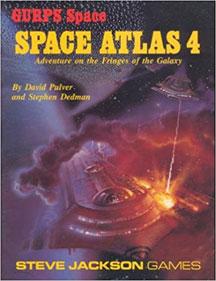 Gurps Space: Space Atlas 4 - USED