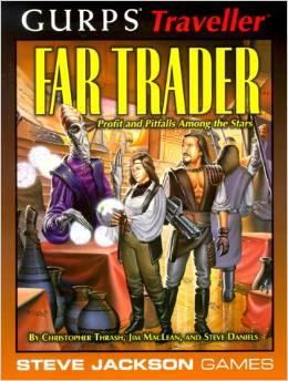 Gurps Traveller: Far Trader - Used