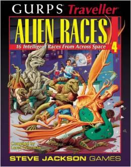 Gurps Traveller: Alien Races 4 - Used