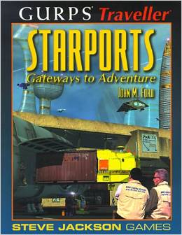 Gurps Traveller: Starports: Gateways to Adventure - Used