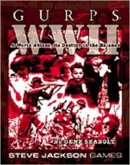 Gurps 3rd Ed: WW II - Used