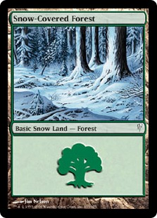 Snow-Covered Forest  (Coldsnap) - FOIL