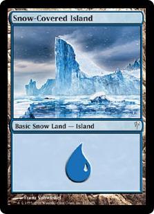 Snow-Covered Island - Ice Age