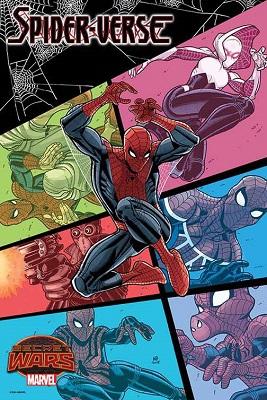 Spider-Verse no. 1 by Bradshaw Poster
