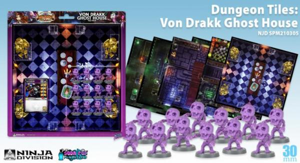 Super Dungeon Explore V2 Tabbybrook Mage Figure Booster Pack by Soda Pop