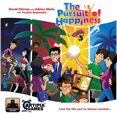 The Pursuit of Happiness Board Game