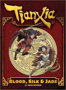 Tianxia: Blood, Silk and Jade Role Playing - Used