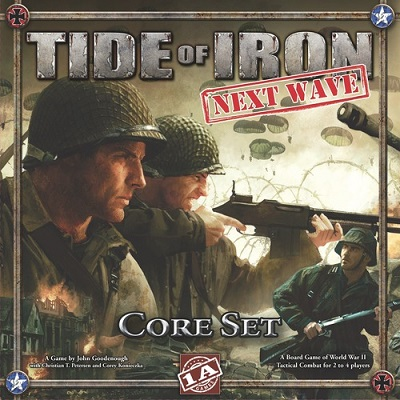 Tide of Iron: Next Wave Board Game - USED - By Seller No: 20 GOB Retail