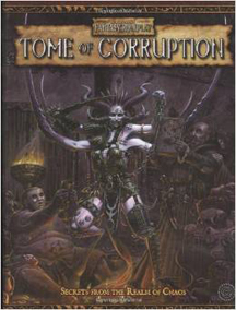 Warhammer Fantasy Roleplay 2nd ed: Tome of Corruption Hard Cover - Used