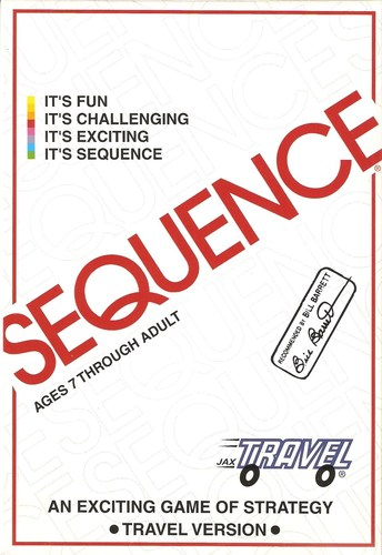 Travel Sequence Card Game
