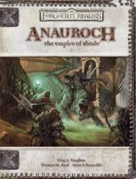 Dungeons and Dragons 3.5 ed: Forgotten Realms: Anauroch: the Empire of Shade - Used