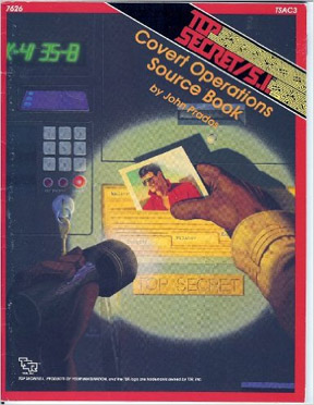 Top Secret / S.I. Covert Operations Source Book - Used