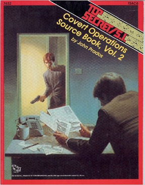 Top Secret: Covert Operations Source Book: Vol 2 - Used