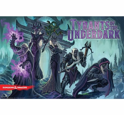 Dungeons and Dragons: Tyrants of the Underdark Board Game - USED - By Seller No: 15590 Michael Tambasco