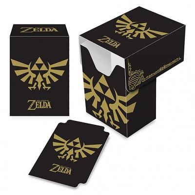 Deck box: Zelda: Black and Gold 85206