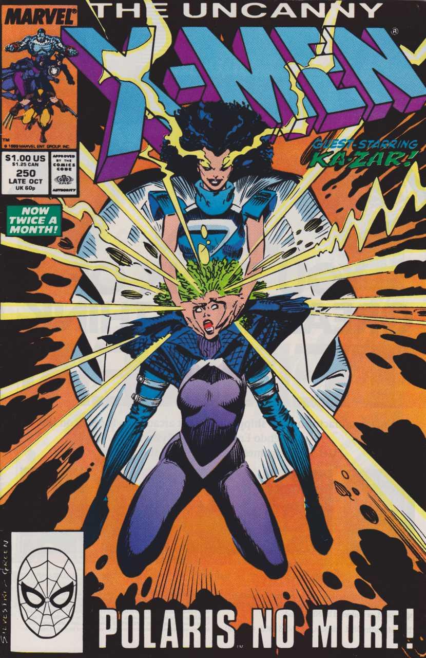 The Uncanny X-Men no. 250: Polaris No More! - Used
