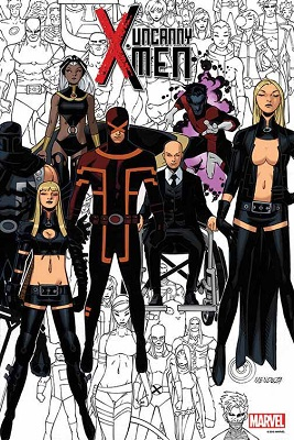 Uncanny X-Men no. 600 by Bachalo Poster Boarded
