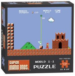 Puzzle: Super Mario: World 1-1